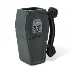 NIGHTMARE BEFORE CHRISTMAS - Mug 3D 300ml - Jack Coffin 182021  Nieuwe imports