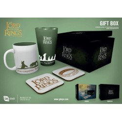 LORD OF THE RINGS - Giftbox - Pint, Beker & 2 Onderzetters - Fellowship