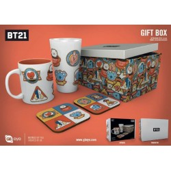 BT21 - Giftbox - Pint, Beker & 2 Onderzetters - Playstation Icons