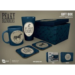 PEAKY BLINDERS- Giftbox - Pint, mug & 2 coasters - By order of 182151  Nieuwe imports