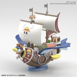 ONE PIECE - Model Kit - Ship - Grand Ship Thousand Sunny Flying - 12cm 182230  Figurines