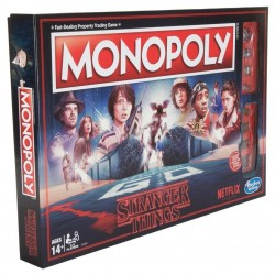 STRANGER THINGS - Monopoly - Standard Edition (UK Only) 182622  Nieuwe imports
