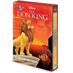 THE LION KING - VHS Circe of Life - Notebook A5 Premium 182638  Notitie Boeken