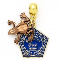 HARRY POTTER - Chocolate Frog - Charm for Halsketting