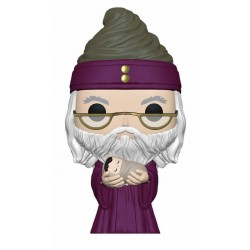 HARRY POTTER - Funko Pop N° 115 - Dumbledore w/ Baby Harry