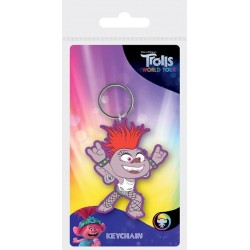 TROLLS WORLD TOUR - Barb - Rubber Keychain 182893  Sleutelhangers