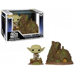 STAR WARS - Funko Pop TOWN N° 11 - Yodas Hut