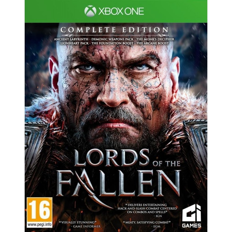 Lords of the Fallen - Complete Edition 167050  Xbox One