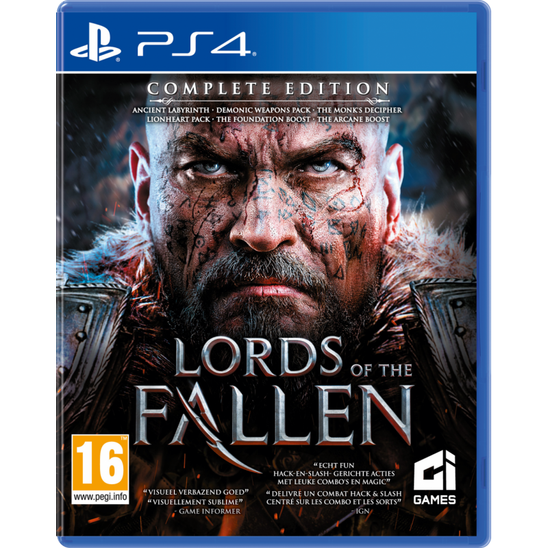 Lords of the Fallen - Complete Edition - Playstation 4  167049  Playstation 4