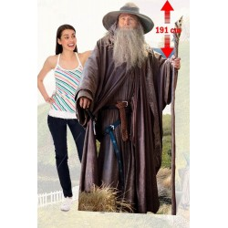 LORD OF THE RINGS - Lifesize Cutout - Gandalf the Gray - 168cm 181613  Nieuwe imports