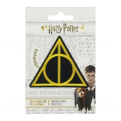HARRY POTTER - Deathly Hallows - Iron-on Patch 183347  Kleding Patches