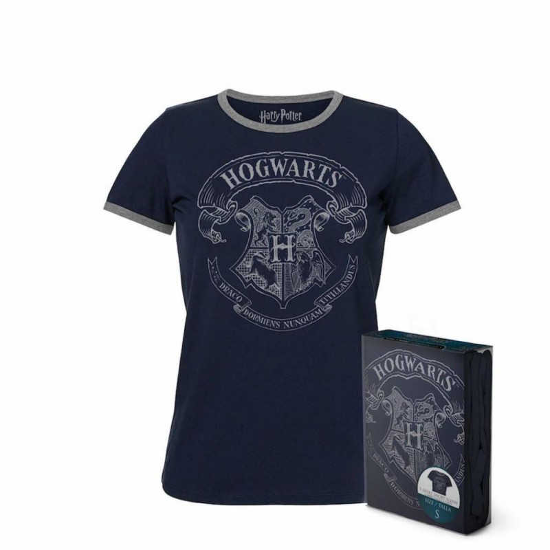 HARRY POTTER - T-Shirt PREMIUM Organic GIRL - Howgarts (M) 167014  T-Shirts