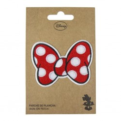 DISNEY - Minnie Ribbon - Iron-on Patch 183368  Kleding Patches