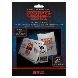 STRANGER THINGS - The Upside Down - Tech Stickers Pack 183543  Stickers