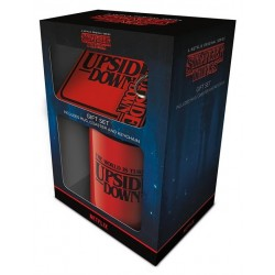 STRANGER THINGS - Upside Down - Mug, Coaster & Keychain Set