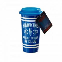 STRANGER THINGS - Hawkins AV Club - Koffiebeker to go