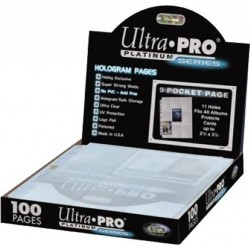 ULTRA PRO - 9-Card Pages...