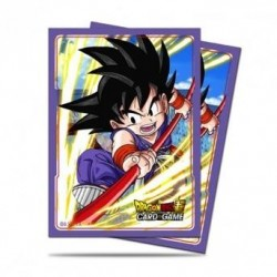 DRAGON BALL - Card Protector 65pcs - Explosive Spirit Son Goku