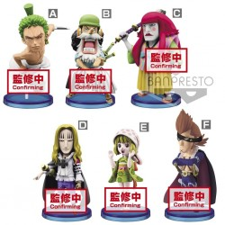 ONE PIECE WANOKUNI - Figurine F - Figurine World Collectable 7cm 183624  Figurines