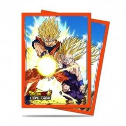DRAGON BALL - Card Protector 65pcs - Father & Son Kamehameha