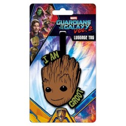 GUARDIANS OF THE GALAXY - I am Groot - Lugage Tag '10x18' 183869  Bagage Labels