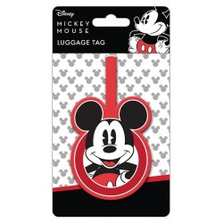 DISNEY - Mickey Mouse - Lugage Tag '10x18' 183874  Bagage Labels
