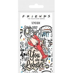 FRIENDS - You Are My Lobster - Rubber Keychain