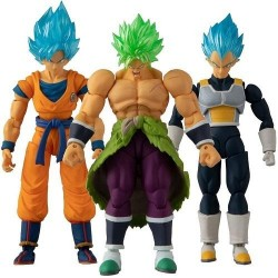 DRAGON BALL - Set van 3 figures Evolution 12cm