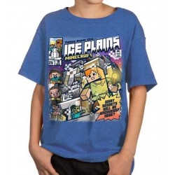MINECRAFT - T-Shirt KIDS - Tales from the Ice Plains (XL) 166970  T-Shirts Kinderen