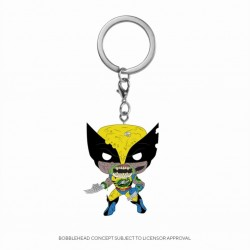 MARVEL ZOMBIES - Pocket Pop Keychains - Wolverine - 4cm 184115  Sleutelhangers