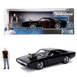 FAST & FURIOUS - 1970 Dodge Charger & Dom - 1:24 184362  Miniatuur Auto's
