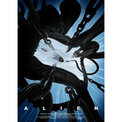 ALIEN - The Leap - Art Print Collector '42x30' 184475  Posters