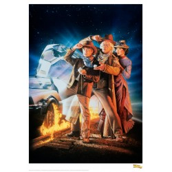 BACK TO THE FUTURE - Time Flies II - Art Print Collector '42x30' 184483  Posters