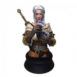 THE WITCHER 3 The Wild Hunt - Buste Ciri Playing Card - 22cm