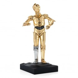 STAR WARS - C3PO - Limited Edition Gold Plated Figure 184701  Figurines