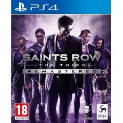 Saints Row The Third Remastered - Playstation 4 184899  Playstation 4