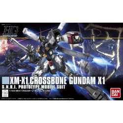 GUNDAM - HGUC Crossbone Gundam X1 1/144 - Model Kit 184973  High Grade (HG)