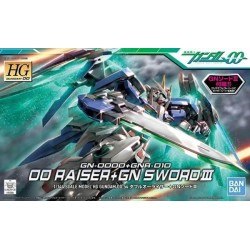 GUNDAM - HG 1/144 OO Raiser+Gn Sword II - Model Kit