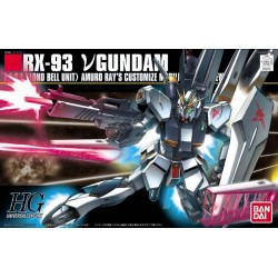 GUNDAM - HGUC 1/144 RX-93 vGundam - Model Kit 185216  High Grade (HG)