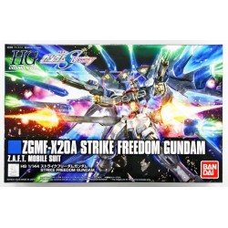GUNDAM - HG 1/144 ZGMF-X20A Strike Freedom Gundam - Model Kit 185228  High Grade (HG)