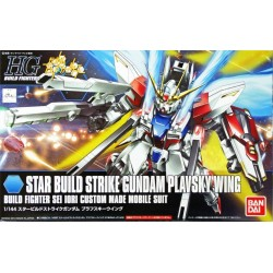 GUNDAM - HGBF Star Build Strike Gundam Plavsky Wing 1/144 - Model Kit 185345  High Grade (HG)