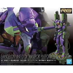 EVANGELION - RG UNIT-01 DX Transport Platform Set - Model Kit 185358  Figurines