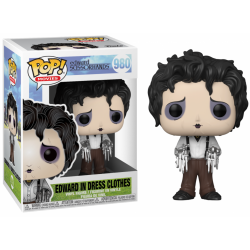 EDWARD SCISSORHANDS - Bobble Head POP N° 980 - Edward in Dress Clothes