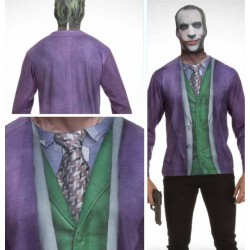 T-Shirt COSPLAY Theme DC COMICS - Joker (M) 166779  T-Shirts