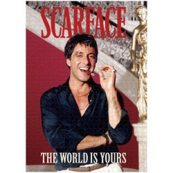 SCARFACE - The World is Yours - Puzzle 1000P 185656  Puzzels