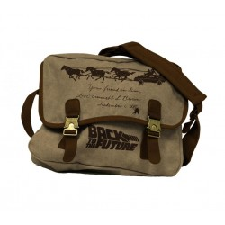 BACK TO THE FUTURE - Western Delorean - Messenger Tas '35x30cm'