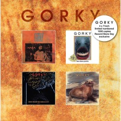 Gorky - 4x7inch Limited Numbered 1000 copies RSD20 2355  LP's