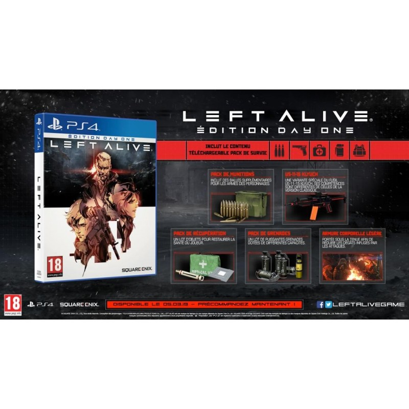 Left Alive Day-One edition - Playstation 4  171088  Playstation 4