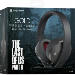 Headset Gold Playstation 4 - Limited Last of Us 2 002373  PS4 Headsets