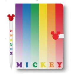 DISNEY - Mickey Rainbow Notebook